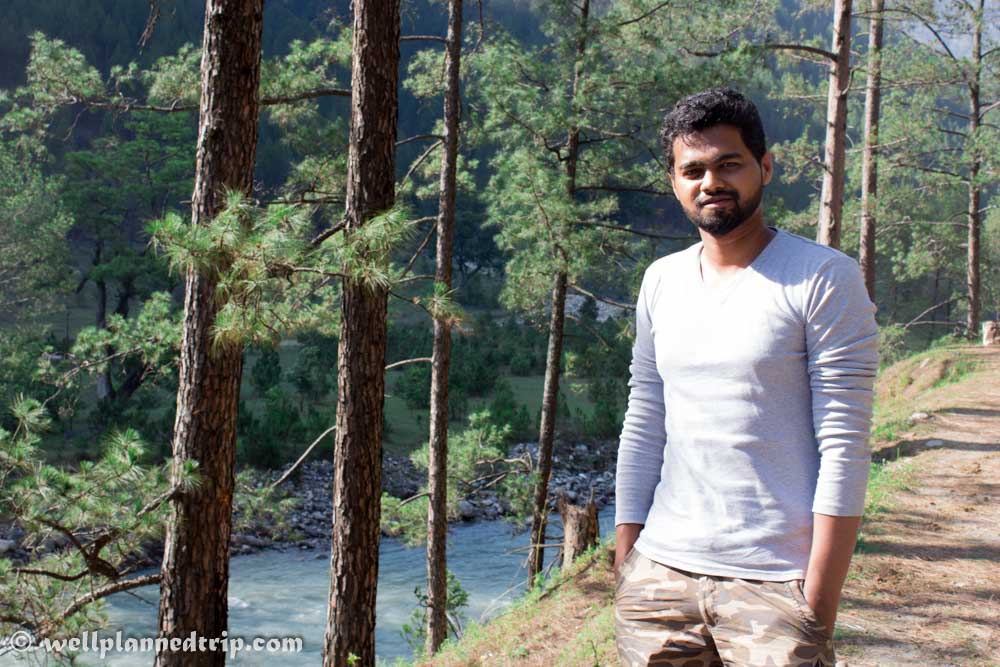 View of Rupin River During Journey