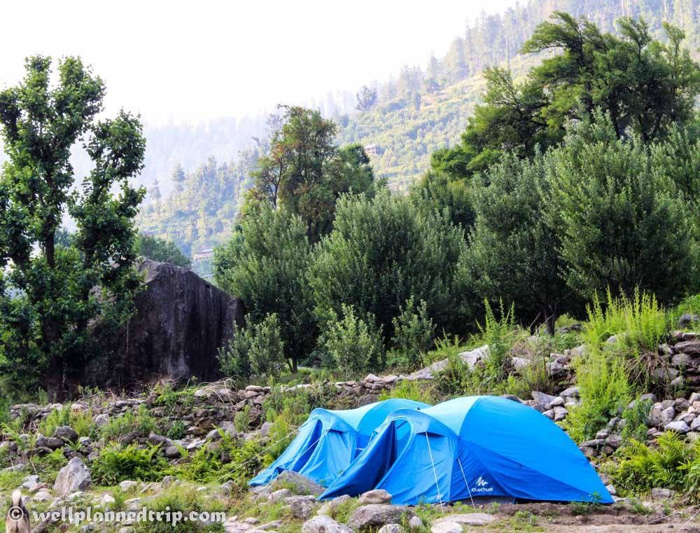 RUPIN PASS: Sewa Camp