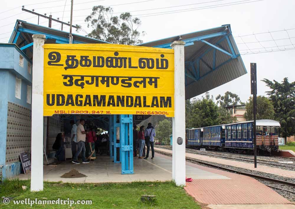 Ooty railway station