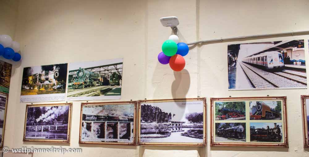 Photo Gallery of Ooty Nilgiri Mountain railways history