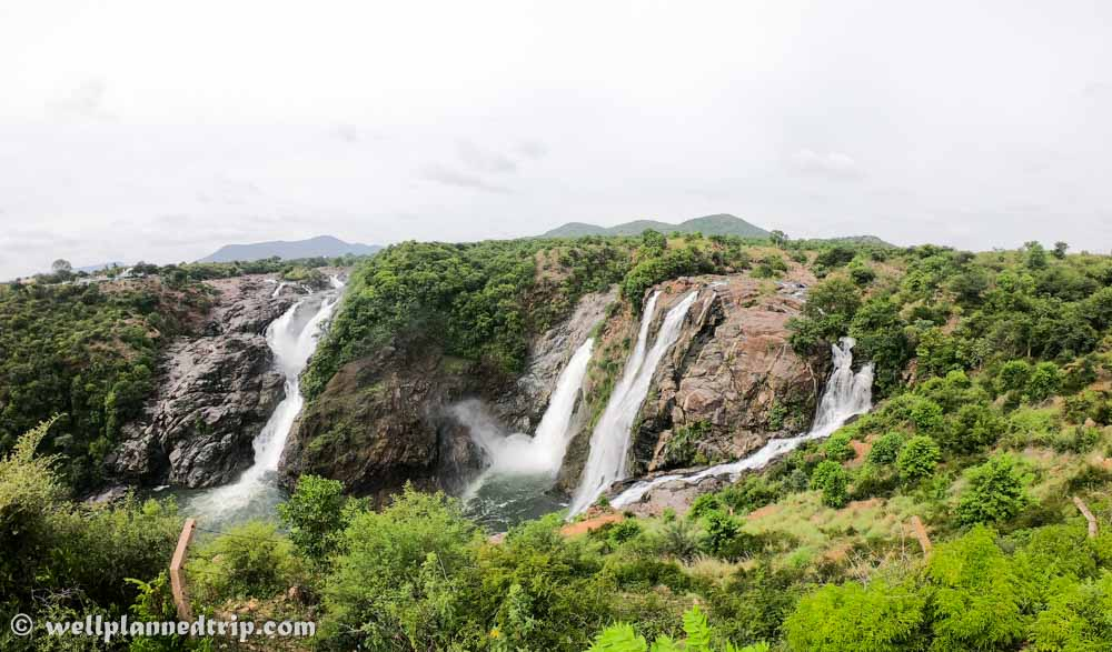 Gaganachukki Falls, Shivanasamudra. Gopro full view