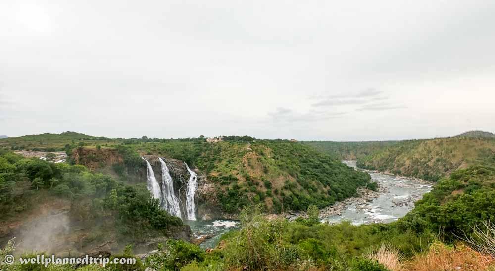 Gopro view, Dharga view point, Shivanasamudra