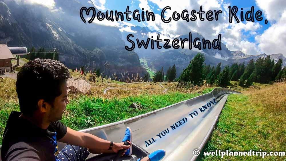 You are currently viewing Mountain Coaster pipe ride – Kandersteg, Switzerland