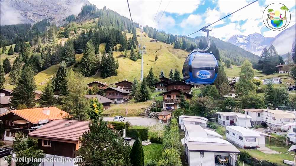 Oeschinensee cable car t