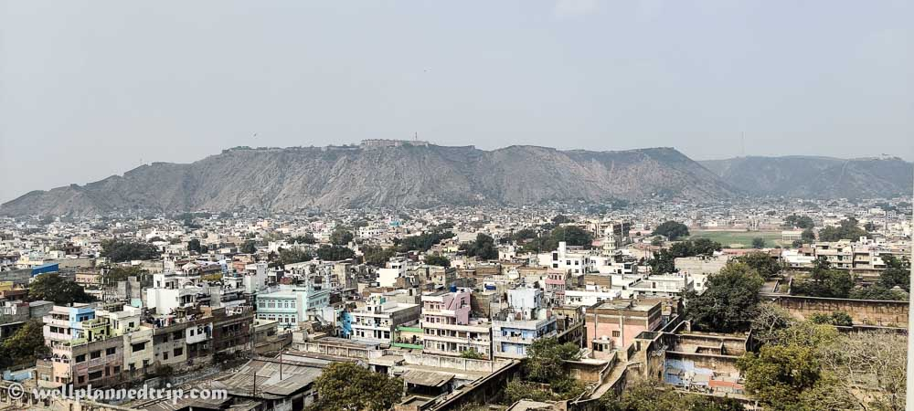 City view from Isarlaat top, Jaipur, Rajasthan