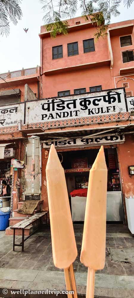 Pandit Khulfi , Jaipur, Rajasthan