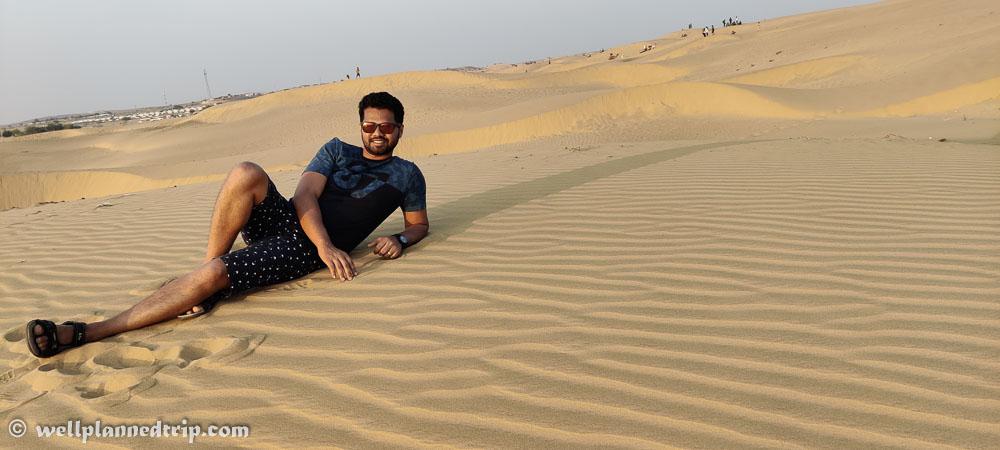sam sand dunes, Jaisalamer