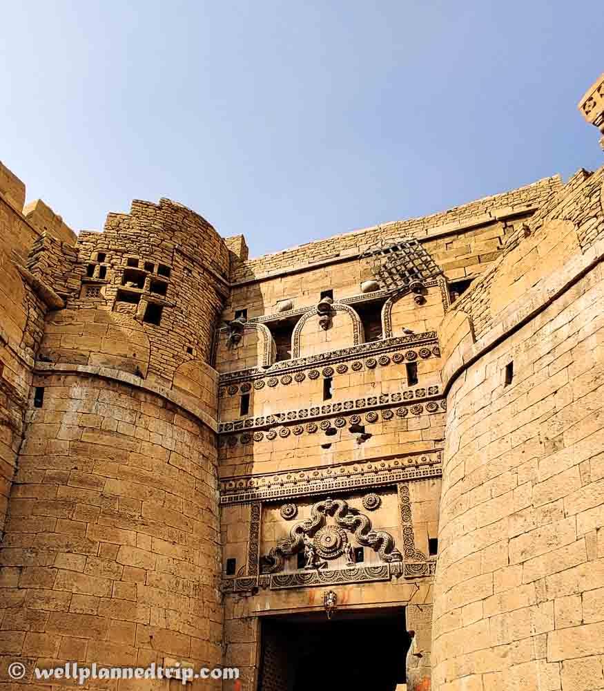 Front gate, Jaisalmer fort, Rajasthan