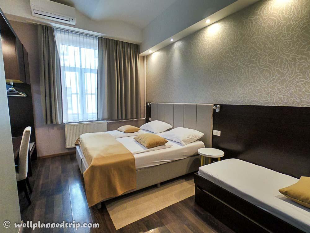 Hotel Emonec, Ljubljana, Slovenia