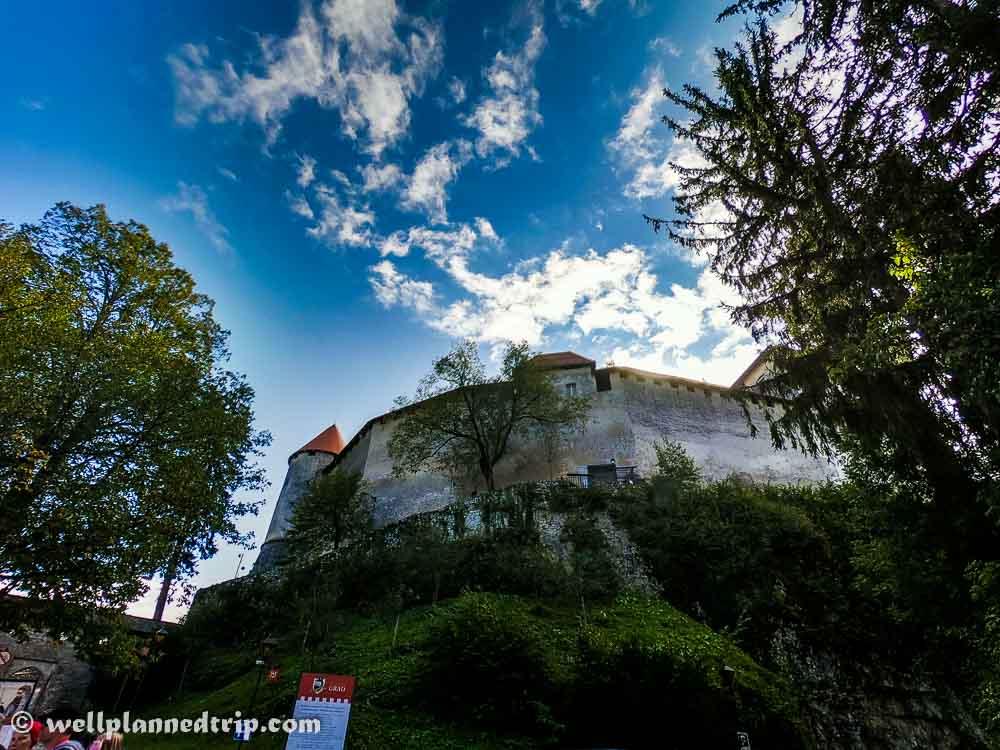 Lake Bled Castle, Slovenia