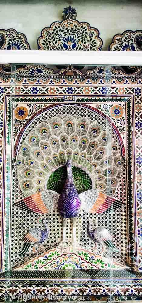 Peacock, City palace, udaipur, Rajasthan