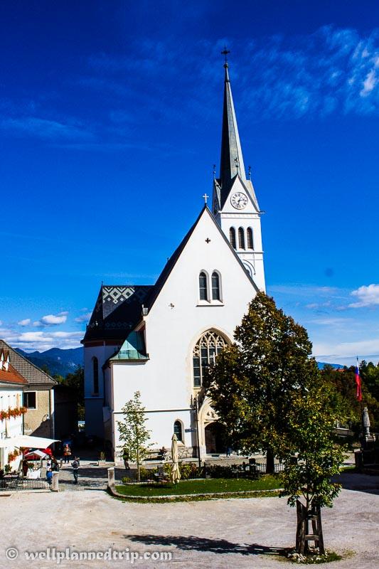 Church Inside, Lake Bled, Slovenia