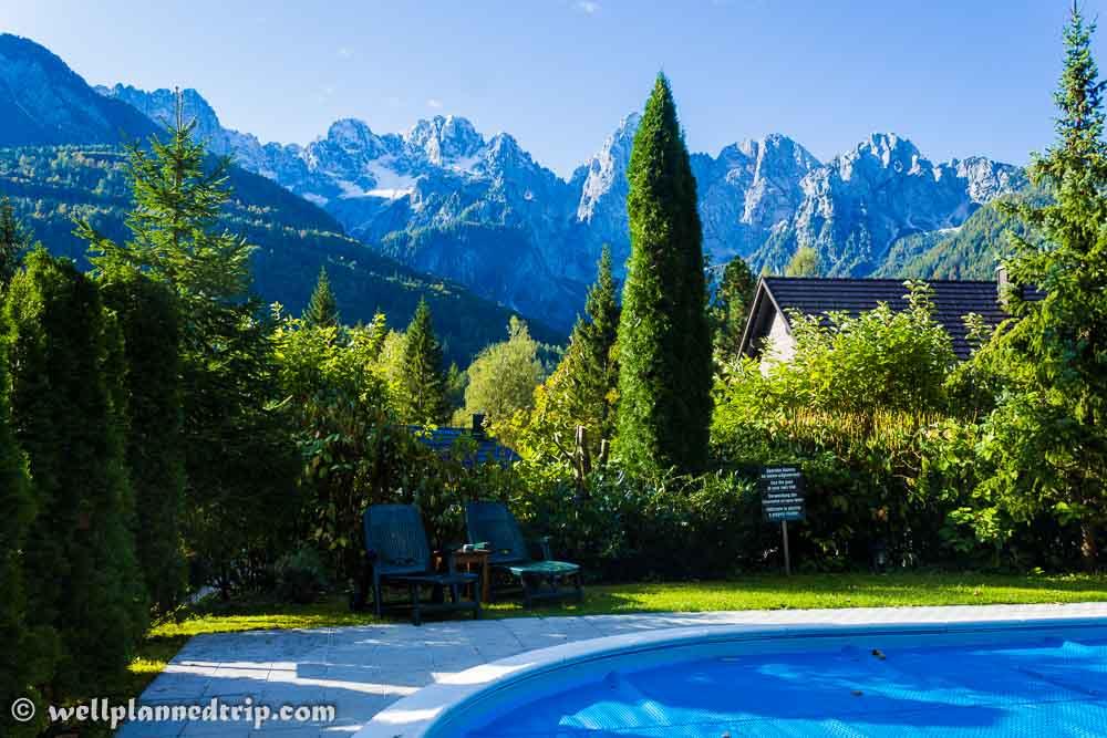 Swimming Pool, Vila Edelweiss, Kranjska Gora, Slovenia