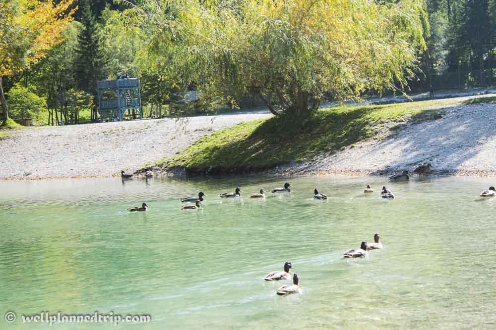 Lake Jasna, Kranjska Gora, Slovenia