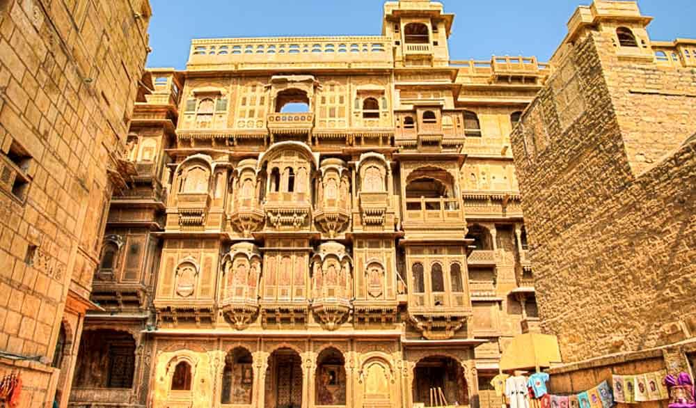 Patwon ki Haveli, Jaisalmer, Rajasthan
