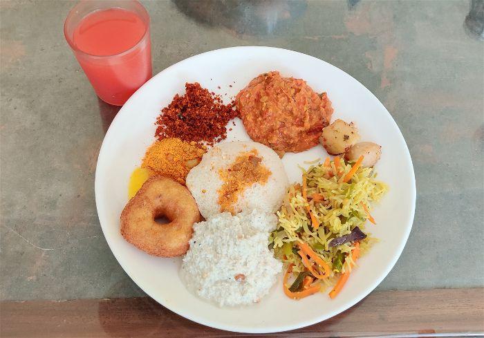 Breakfast , Windflower resorts & Spa, Bangalore