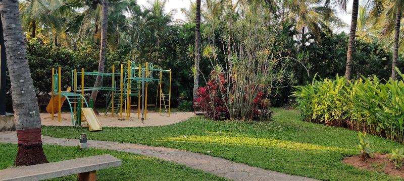 Children's play area, Windflower Prakruthi Resort & Spa, Bangalore